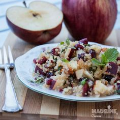 Salata de mar, merisoare si quinoa