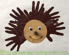 Mauriquices: Com mãos fiz um ouriço, mas com mãos não pego nele!