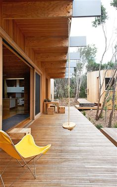 Interiors: A wooden holiday home in Pirate's Bay, Australia - Telegraph