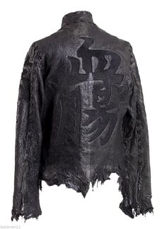 Chrome ELEVEN11 Leather Jacket IWO Jima IN Black Stingray Hearts SZ L | eBay