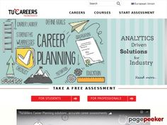 Tucareers Free career test (assessment) is most comprehensive and best in industry.The Tucareers free career test/assessment is a 30 minute interest, personality, and preference, workstyle assessment that measures you against over 50+ traits and uses that data to accurately match you to 700+ careers.