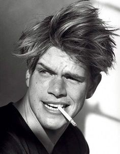 minus the cig... but, Matt Damon!!