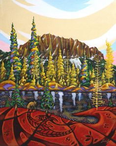 I will hike this mountain this year. Canada House, Artwork Display, Canadian Art, Four Legged, Wings, Presents, Stone, My Love, Gallery