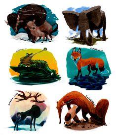 Daily animal challenge 1 by *evelmiina on deviantART