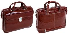 Siamod Settembra Medium Leather Laptop Bag For Women