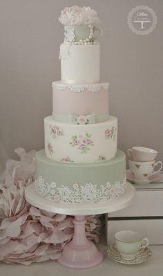 Tea Cup Wedding Cake | Flickr - Photo Sharing