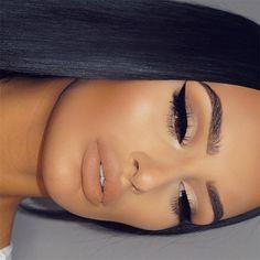Gorgeous Makeup: Tips and Tricks With Eye Makeup and Eyeshadow – Makeup Design Ideas Glam Makeup, Flawless Makeup, Cute Makeup, Gorgeous Makeup, Skin Makeup, Makeup Inspo, Bridal Makeup, Wedding Makeup, Makeup Inspiration