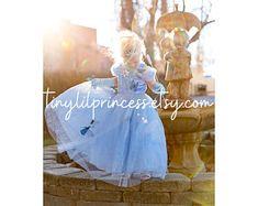 Princess Costume Pink Princess Tutu Dress Cinderella Dress   Etsy Baby Princess Costume, Princess Dress Up, Disney Princess Dresses, Pink Princess, Princess Birthday, Cinderella Dress Disney, Girls Petticoat, Ball Gown Dresses, Costumes