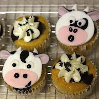 Cow cupcakes!