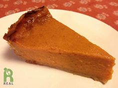 This is our veganized version of the classic Libby's Pumpkin Pie recipe. 2 Tablespoons ground flax seeds 4 Tablespoons water 3/4 cup sugar (we use evaporated cane juice) 1 tsp. vanilla 1 teaspoon g...