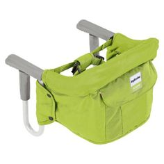 This is a great alternative to a traditional high chair, and awesome for attaching to your kitchen island/breakfast bar. You can also take it on the go with you to restaurants and grandmas house.