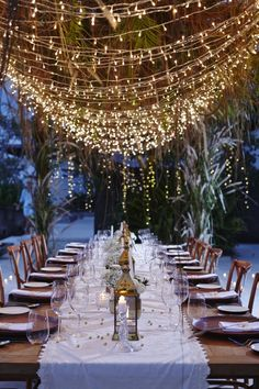 Diwali Party outdoor table setting (Bali Event Hire / View Portfolio on The LANE)
