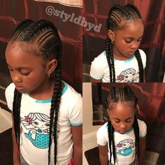 1,273 Followers, 157 Following, 190 Posts - See Instagram photos and videos from D Rideaux (@styldbyd) Young Girls Hairstyles, Black Girl Braided Hairstyles, Girls Natural Hairstyles, Natural Hairstyles For Kids, Natural Hair Styles, Gorgeous Hairstyles, Braid Hairstyles, Little Girl Braids, Black Girl Braids