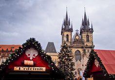 Prague Christmas Market. More xmas markets on: http://www.europeanbestdestinations.com/christmas-markets/ #Christmas #travel #europe #market #europeanbestdestinations #Prague Copyright Jan Placek
