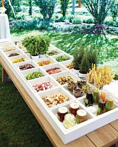 custom made salad bar