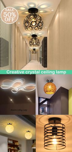 Design chandeliers suitable for all occasions such as living room, bedroom, dining room, etc., to add temperature and color to your interior, now the special offer, come and see! Recessed Ceiling Lights, Ceiling Lamp, Ceiling Lights, Ceiling, Ceiling Lights Diy, Home Decor, Crystal Ceiling Lamps, Dining Room, Diy Lighting