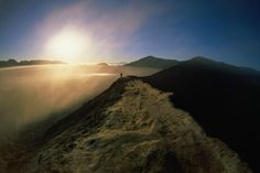 Sunrise in Gunung Bromo, Indonesia....most beautiful place in East Java..went there with JP ^_^...Gunung means Mountain..