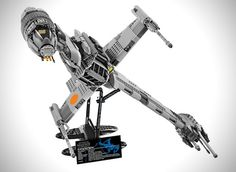 Impresionante B-Wing Fighter de Star Wars en Lego