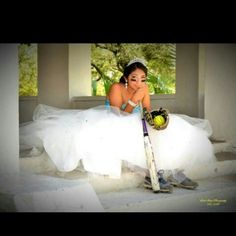 My daughter quince picture  Softball