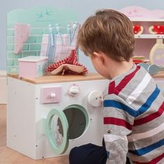 Le Toy Van Honeybake Washing Machine And Airer 3+Yrs