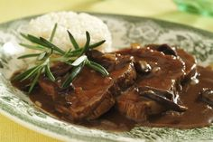 Czech Recipes, Meat Recipes, Stew, Pork, Sweets, Breakfast, Image, Diet, Cooking