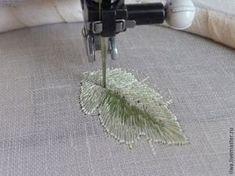 Не умеете вышивать на швейной машинке? Просто вы не пробовали! - Ярмарка Мастеров - ручная работа, handmade