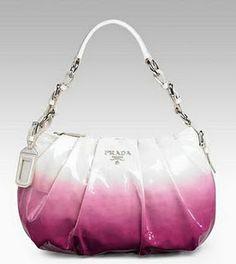 prada purse pink
