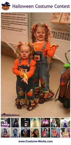 DIY Costumes for Girls - some great Halloween costume ideas!