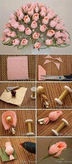 Chocolate Flower Bouquet – DIY by deana