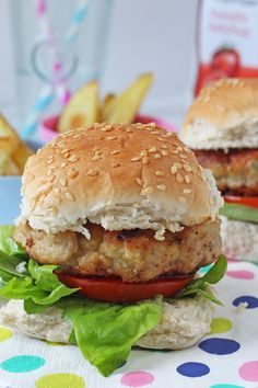 Delicious kid-friendly burgers made with chicken thighs and grated apple, all from the essential Waitrose range.