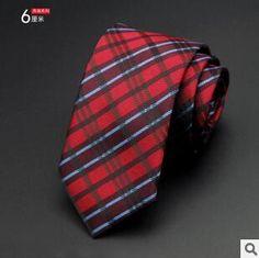 6cm Men's Ties