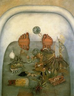 "Frida Kahlo, ""What I Saw in the Water"""
