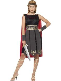 Roman Warrior Womens Costume. Perfect for Greek, Roman, Ancient or classical parties. Next day delivery from Sydney Australia