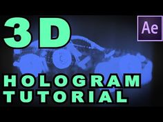 After Effects (Trapcode Form) Tutorial - 3D Hologram Effect - YouTube