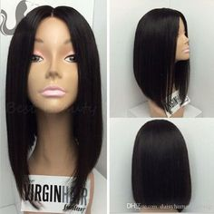 Brazilian Virgin 4*4'' Silk Base Full Lace Wig Short Human Hair Bob Wigs Silk Top Lace Front Wigs For Black Women Shop Hair Wigs Laces Wigs From Daisyhumanhairwig, $142.83| Dhgate.Com