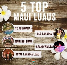 Search for Maui luaus and you may get lost in the abundance of options. Which Maui luau is best for kids, which has fire dancers? See the 5 Best Maui luaus. Maui Hawaii, Kauai, Maui Luau, Best Hotels In Maui, Hawaii 2017, Maui Beach, Old Lahaina Luau, Lahaina Maui, Maui Vacation