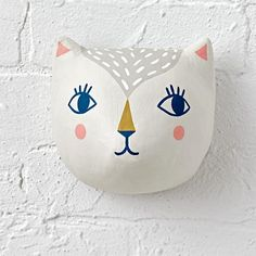 Pet Pal Cat Head Decor  | The Land of Nod