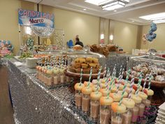 Candyland themed buffet