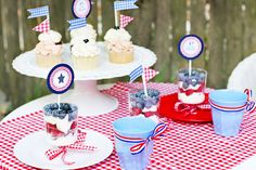 Red Gingham Picnic
