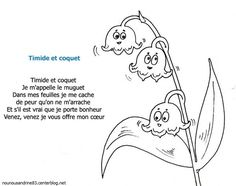 comptine : Timide et coquet French Poems, 1. Mai, French School, Bujo, Literacy, Coquet, About Me Blog, Doodles, Snoopy