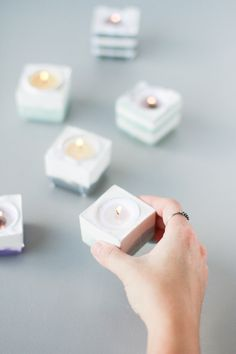 DIY Candle Votives on a Budget #DIY #Howto #Doityourself #project #like #greatideas