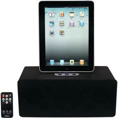 Jensen Ipad And Iphone And Ipod Universal Docking Speaker Station