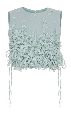 Embellished Heavy Cloth Chemisette by Ruban for Preorder on Moda Operandi