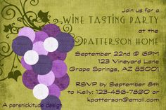 10 Wine Tasting Invite Wording Samples | Messages and ...