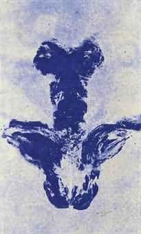 yves klein / ANT 49 / 1961 / pigment and synthetic resin on canvas International Klein Blue, Nouveau Realisme, Yves Klein Blue, Art Informel, Medieval Paintings, Monochrome, Environmental Art, French Artists, Jasper Johns