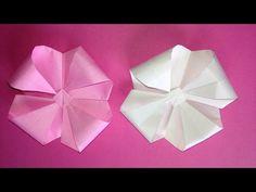 Origami flower 3D instructions 折り紙の花 立体 折り方. Link download: http://www.getlinkyoutube.com/watch?v=gqCDniQBEGA