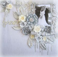 Shabby Chic Layouts By Keren Tamir