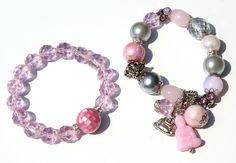 Pink Buddha armbandenset