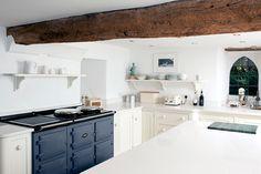 New AGA colour - Dartmouth Blue. Denim. Trends. Cast Iron Cookers.
