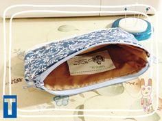 001 || Blu Klasik pouch || diy ++ pikkableu ++